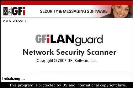 GFI LANguard Network Security Scanner ver.8.0.20070322