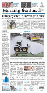 Morning Sentinel – January 24, 2020