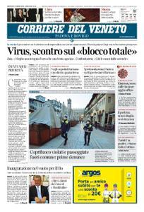 Corriere del Veneto Padova e Rovigo – 11 marzo 2020