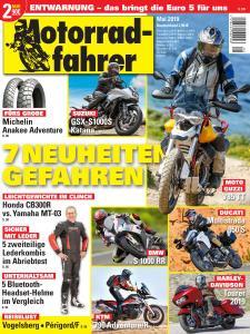 Motorradfahrer - Mai 2019