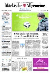 Märkische Allgemeine Prignitz Kurier - 23. März 2018