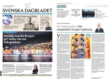 Svenska Dagbladet – 30 december 2018