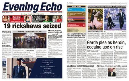 Evening Echo – February 12, 2018