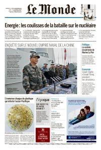 Le Monde du Dimanche 9 et Lundi 10 Septembre 2018