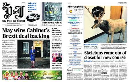 The Press and Journal Moray – November 15, 2018