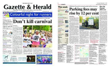 Gazette & Herald – September 07, 2017