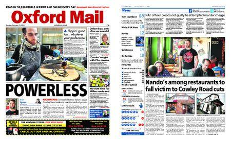Oxford Mail – February 13, 2018