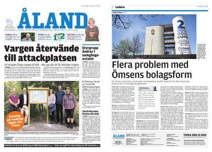Ålandstidningen – 27 juni 2018