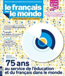 Le français dans le monde - novembre 2020