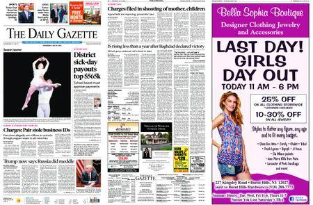 The Daily Gazette – July 18, 2018