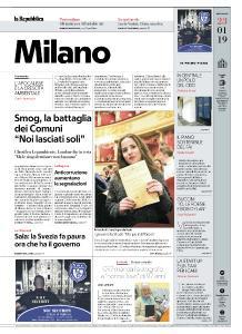 la Repubblica Milano - 23 Gennaio 2019