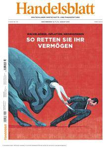 Handelsblatt - 10. August 2018
