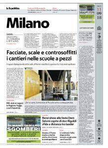 la Repubblica Milano - 11 Settembre 2018