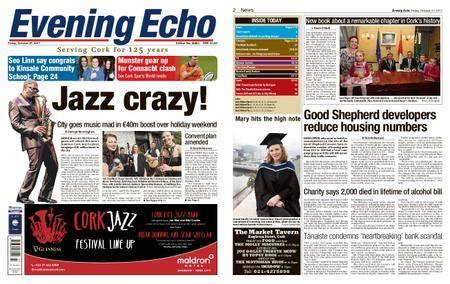 Evening Echo – October 27, 2017