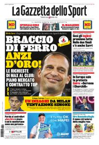 La Gazzetta dello Sport Roma – 10 maggio 2019