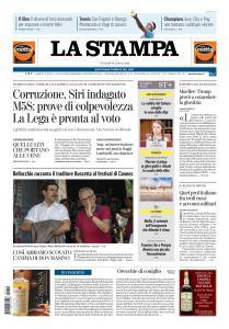La Stampa Torino Provincia e Canavese - 19 Aprile 2019