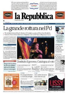 la Repubblica - 28 Ottobre 2017