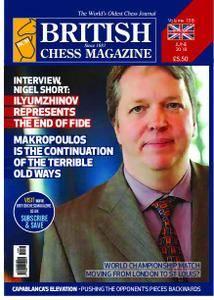 British Chess Magazine – June 2018