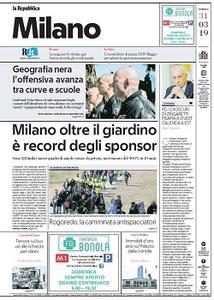 la Repubblica Milano - 31 Marzo 2019
