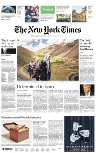 International New York Times - 29-30 June 2019