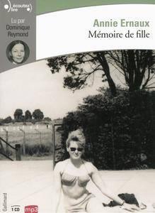 """Annie Ernaux, """"Mémoire de fille"""""""
