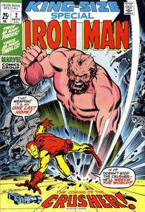 Iron Man Annual v1 002 Complete Marvel Collection