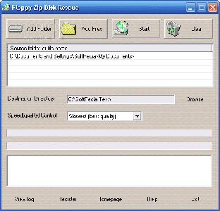 Floppy Zip Disk Rescue ver. 1.69