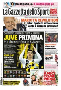 La Gazzetta dello Sport Roma – 13 dicembre 2018