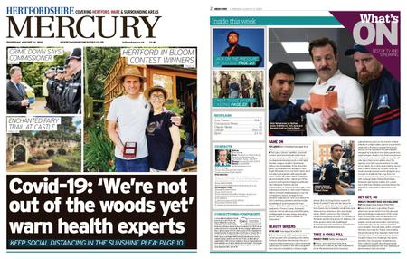 Hertfordshire Mercury – August 13, 2020