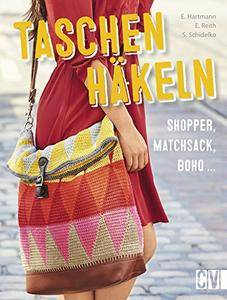 Taschen häkeln: Shopper, Matchsack, Boho