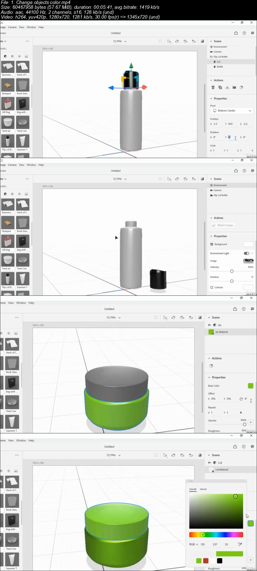 Adobe Dimension CC: Create Awesome 3D Models
