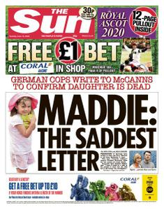The Sun UK - 16 June 2020