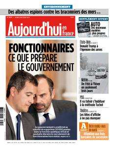 Aujourd'hui en France du Mardi 30 Octobre 2018