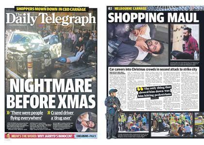 The Daily Telegraph (Sydney) – December 22, 2017