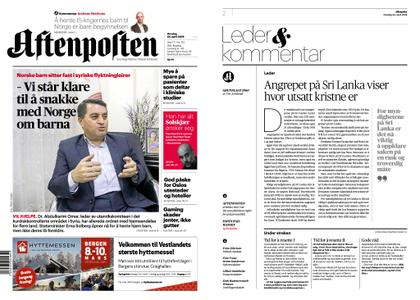 Aftenposten – 24. april 2019