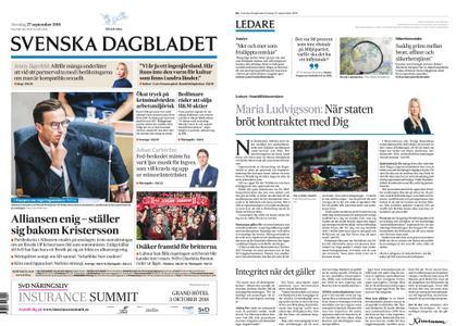Svenska Dagbladet – 27 september 2018