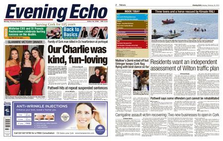 Evening Echo – February 18, 2019