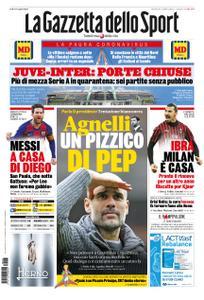 La Gazzetta dello Sport Roma – 25 febbraio 2020