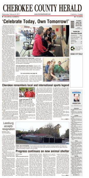 Cherokee County Herald - February 8, 2017