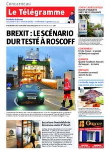 Le Télégramme Concarneau – 02 octobre 2019