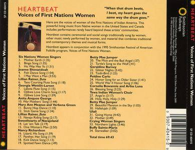 VA - Heartbeat: Voices of First Nations Women (1995)