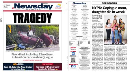 Newsday – July 26, 2021