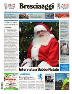 Brescia Oggi - 24 Dicembre 2017