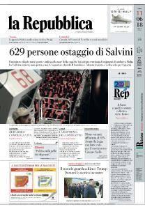 la Repubblica - 11 Giugno 2018