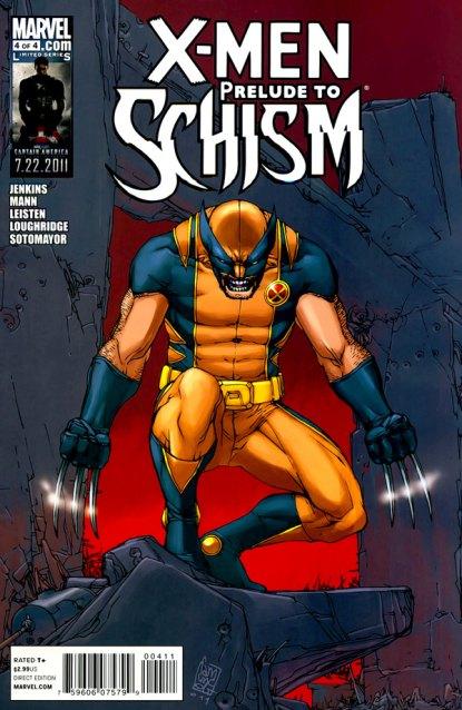X-Men: Prelude to Schism #4 (of 4) (2011)