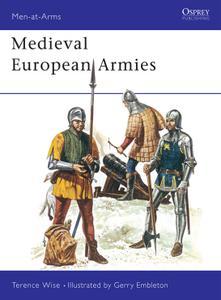 Medieval European Armies, Book 50 (Men at Arms)