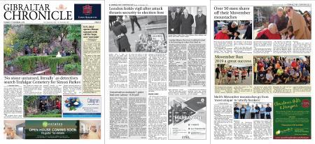 Gibraltar Chronicle – 03 December 2019