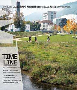 Landscape Architecture Magazine USA - August 2021