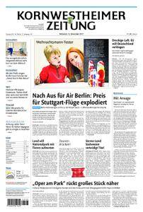 Kornwestheimer Zeitung - 15. November 2017