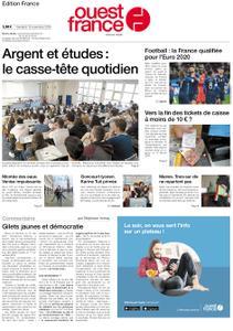 Ouest-France Édition France – 15 novembre 2019